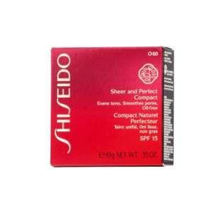 Shiseido O60 Natural Deep - Compact naturel perfecteur SPF 15