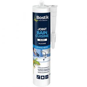 Bostik Joint d'étanchéité Bain & Cuisine 310ml Blanc -