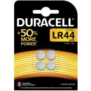 Duracell Pile SPE LR44 X4