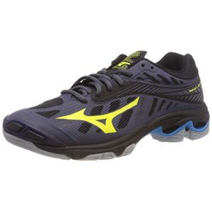 new product bde26 32f8c Mizuno Wave Lightning Z4, Sneakers Basses Homme, Multicolore (O Blue  Syellow