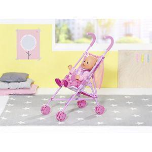 Zapf Creation 826485 Stroller Baby Born avec étui