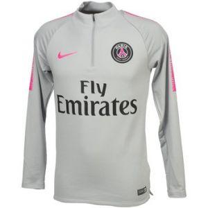 Nike Haut de football à manches longues Paris Saint-Germain Dri-FIT Squad Drill pour Homme - Gris - Taille L