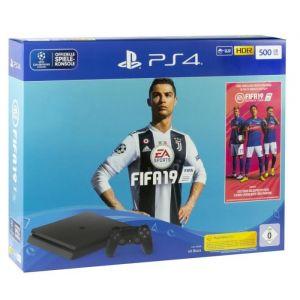 Sony PlayStation 4 Slim 500GB + FIFA 19 - Console de jeu