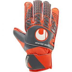 Uhlsport Gants de gardien orange -4 ans