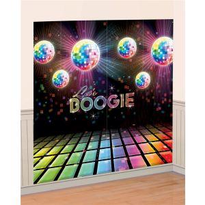 Décoration murale boules à facettes Disco (82 x 165 cm)