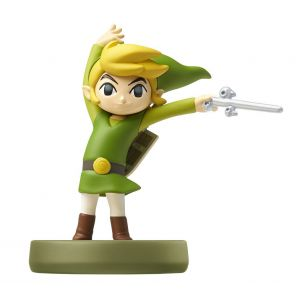 Nintendo Amiibo Link Cartoon - The Legend of Zelda : The Wind Waker