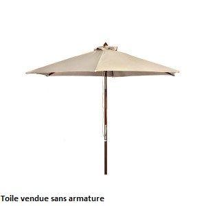 toile de parasol blanche d300cm comparer avec. Black Bedroom Furniture Sets. Home Design Ideas