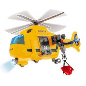 John World Hélicoptère de secours jaune