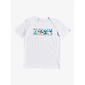 Quiksilver T-shirt enfant DISTANT FORTUNE - Couleur 8 ans,10 ans,12 ans,14 ans - Taille Blanc