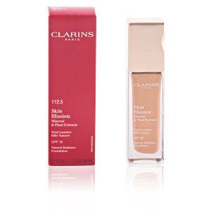 Image de Clarins Skin Illusion 112.5 Caramel - Teint lumière effet naturel SPF 10