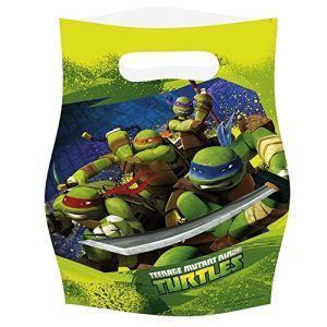 6 sacs à surprises Tortues Ninja