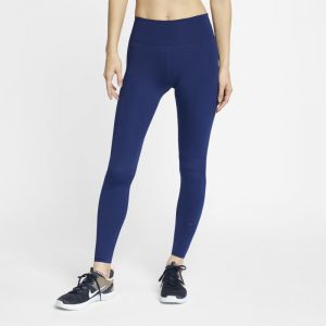 Nike Tight de training One Luxe Femme - Bleu - Taille M