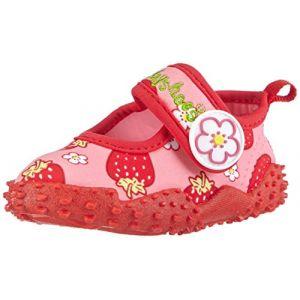 Playshoes GmbH Uv Protection Aqua Strawberries, Piscine et plage Mixte Enfant - Rouge (Original 900), 34/35 EU