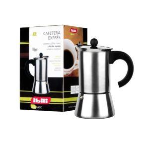 Ibili 611302 - Cafetière italienne Indubasic tous feux dont induction