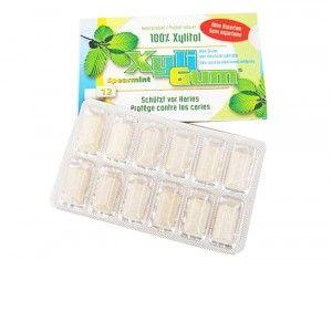 XYLI GUM Chewing-Gum 100% de Xylitol - Menthe Verte