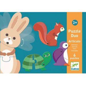 Djeco 6 Puzzles - Suo - Articulo