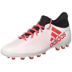 Adidas X 17.3 AG, Chaussures de Football Homme, Multicolore (Ftwwhtreacorcblack), 44 EU