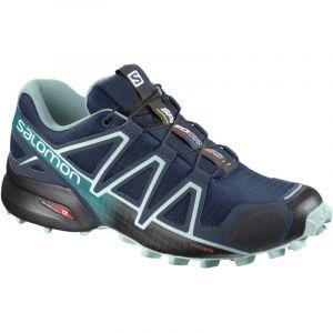 Salomon Femme Speedcross 4 Chaussures de Trail Running, Bleu (Poseidon/Eggshell Blue/Black), Taille: 38 2/3
