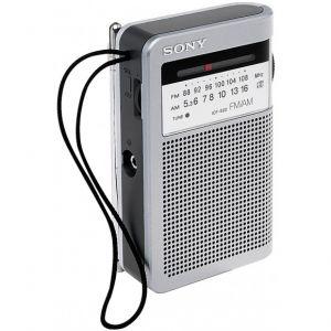 Sony ICF-S22 - Radio FM/AM portable avec haut parleur externe