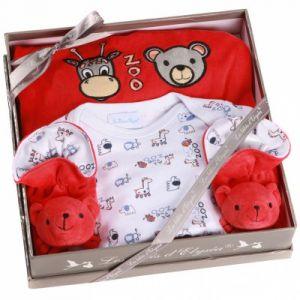 Les bébés d'Elyséa Les Bébés d Elysea Coffret zoo - rouge