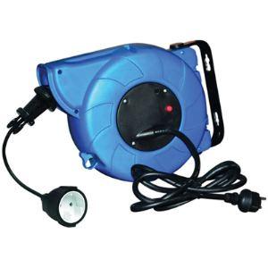 Sodise 03111 - Enrouleur automatique rallonge électrique 11m+2m