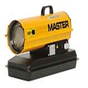 Sovelor Master B 70 P - Chauffage air pulsé mobile au fuel combustion directe (160m3)