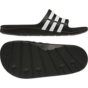 Adidas Duramo Slide K - Sandales natation - Enfant - Black/Running White/Black - 34 EU (2 UK)