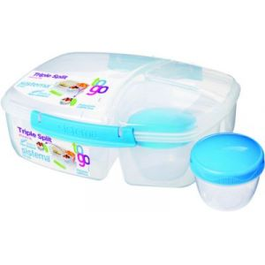 Sistema Lunch box To Go 2L 3 compartiments + boîte yaourt