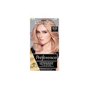 L'Oréal Infinia Preference Shimmering Rose Gold Hair Dye