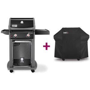 Weber Spirit EO-210 - Barbecue à gaz 2 brûleurs + Housse
