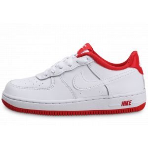 Nike Force 1 Blanc Rouge Enfant 34 Baskets