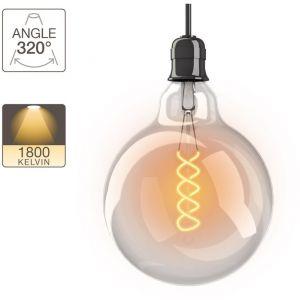 Image de Xanlite Ampoule LED géante - culot E27 - vintage torsade