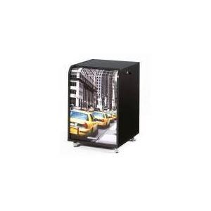 Classeur mobile à rideau imprimé Arobase - Comparer avec Touslesprix.com