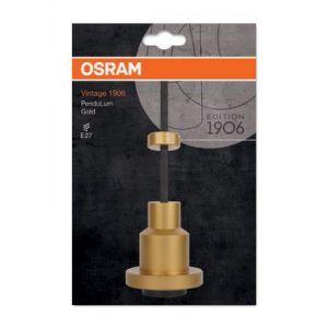 Osram Vintage Edition 1906 / Luminaire suspendu PenduLum / 220...240 V, Culot E27, Aluminium Doré, Longueur 2m, IP20