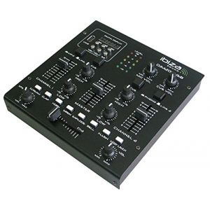 Ibiza Sound Ibiza DJM200USB Table de mixage Noir