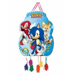 Petite piñata Sonic 39 x 43 cm Taille Unique
