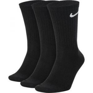 Nike Chaussettes de training mi-mollet légères Everyday pour Homme (3 paires) - Noir - Taille L - Homme