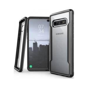Xdoria Coque Samsung S10+ Defense Shield noir