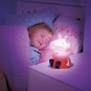 Worlds Apart Veilleuse et lampe torche Go Glow Pegga Pig