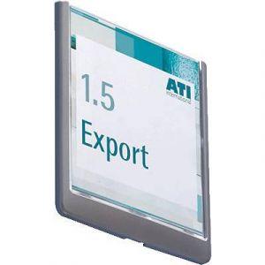 Durable 4862-37 - Plaque de porte CLICK SIGN, (L)149 x (H)148,5 mm, coloris graphite