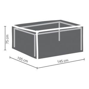 Perel Housse d'extérieur pour table max. 140 cm