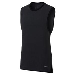 Nike Débardeur de training de yoga Dri-FIT pour Homme - Noir - Taille S