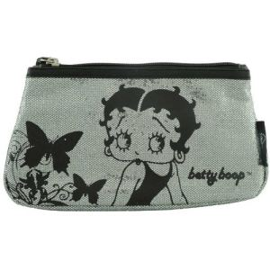 Trousse de maquillage Betty Boop pailletée