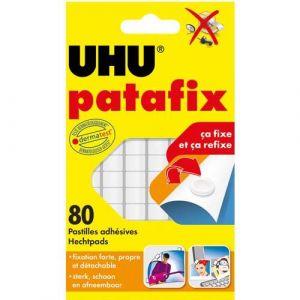 UHU 2813200 - Bandes prédécoupées de 80 pastilles Patafix blanche