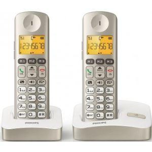 philips xl3002c t l phone sans fil 2 combin s comparer. Black Bedroom Furniture Sets. Home Design Ideas