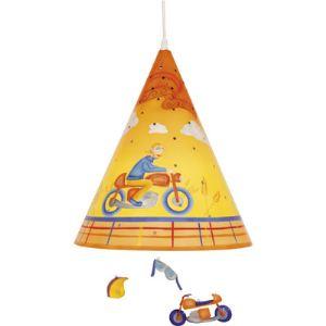 L'oiseau bateau Suspension Nuitéjours garçon à moto