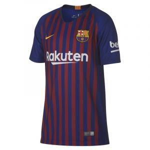 Nike Maillot de football 2018/19 FC Barcelona Stadium Home pour Enfant plus âgé - Bleu Taille XS
