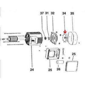Procopi 976523 - Ventilateur moteur de surpresseur Tema 1000