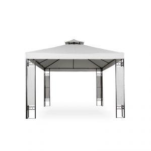 2201010 - Tonnelle de jardin pavillon métal 4 x 3 m