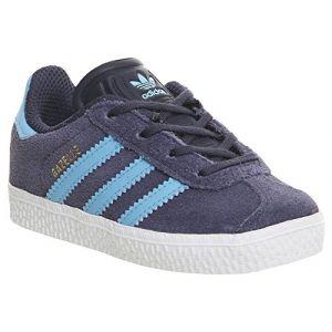 Adidas Originals Gazelle I - Baskets en cuir mélangé - bleu